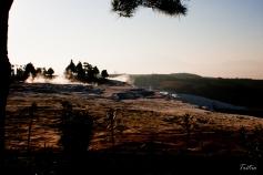 Piscinas termales en Pamukkale