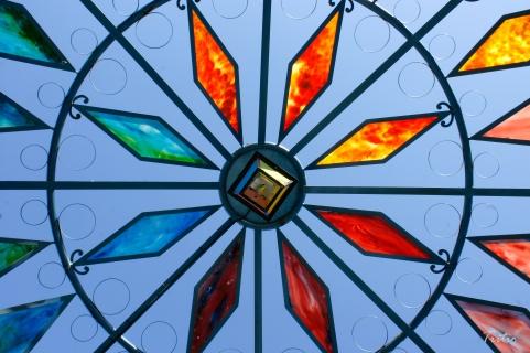 Pagoda de cristales o un cielo de colores
