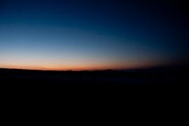 Anochece en la Capadocia