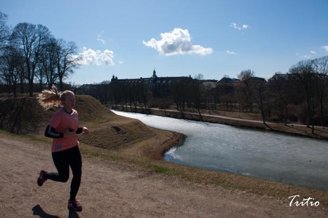 Salir a correr, por ejemplo, en una mañana fría pero despejada