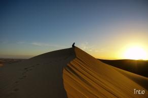 Paz interior sobre la arena